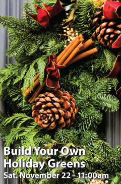 Build Your Own Holiday Greens
